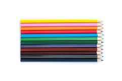 De potloden van de kleur Stock Fotografie