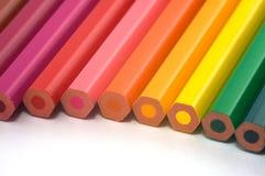 De Potloden van de kleur Stock Foto