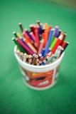 De Potloden van de kleuring Royalty-vrije Stock Foto's