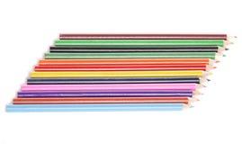 De potloden van de kleuring Royalty-vrije Stock Fotografie