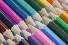De Potloden van de kleuring Stock Foto's