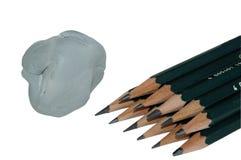 De potloden van de kunst Stock Foto
