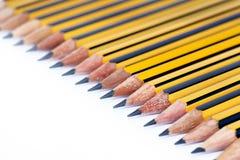 De potloden van de tekening stock foto's