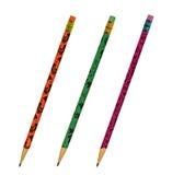 De potloden van Halloween stock fotografie