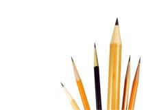 De potloden van het lood Royalty-vrije Stock Afbeeldingen