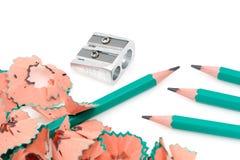 De potloden van het lood Royalty-vrije Stock Afbeelding