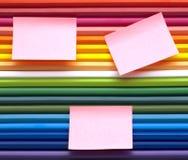 De potloden van kleuren Stock Foto