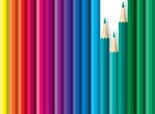 De potloden van ?olored Royalty-vrije Stock Foto's