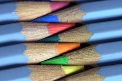 De potloden van Watercolour Royalty-vrije Stock Foto's