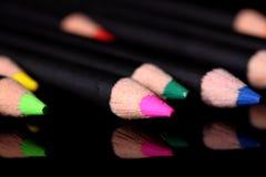De potloden van Watercolour Royalty-vrije Stock Afbeelding
