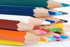 De potlodenmacro van de kleur Stock Foto's
