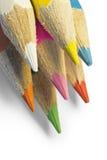 De potlodenmacro van de kleur Stock Afbeelding