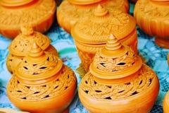 De potten van de bloem Stock Fotografie