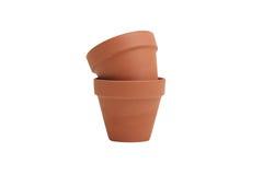 De potten van de bloem Stock Foto's