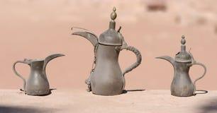 De Potten van de koffie Royalty-vrije Stock Afbeeldingen