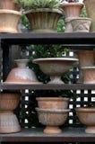 De Potten van de tuin Stock Afbeelding