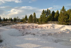 De Potten van de Verf van Yellowstone Stock Foto's