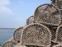 De Potten van de zeekreeft royalty-vrije stock foto