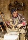 De pottenbakkersman stock foto's