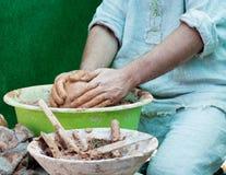 De pottenbakkerswerken. royalty-vrije stock fotografie