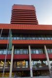 """""""de PoznaÅ, Polônia - 06 20 2018: Universidade econômica em Poznan imagens de stock royalty free"""