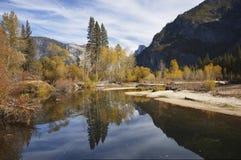 De pracht van de herfst in Yosemite royalty-vrije stock foto