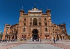 De prachtige Arena van Las Ventas van Madrid, Spanje royalty-vrije stock fotografie