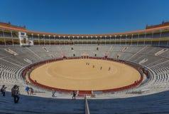 De prachtige Arena van Las Ventas van Madrid, Spanje royalty-vrije stock afbeeldingen