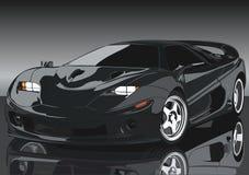 De prachtige auto Stock Afbeelding
