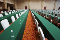 De prachtige conferentieruimte Stock Foto