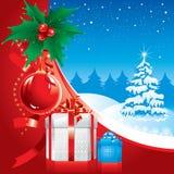 De prachtige illustratie van Kerstmis. Vector. vector illustratie