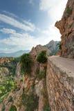 De prachtige kreken van Piana in Corsica Frankrijk royalty-vrije stock afbeeldingen