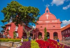 De prachtige Oude Stad Melaka, Maleisië stock foto
