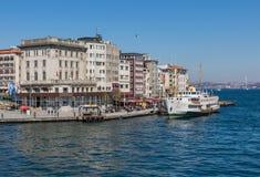 De prachtige Straat van Bosporus van Istanboel Turkije stock foto