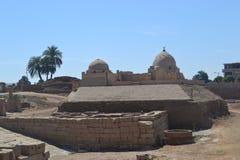 Tempel van amon-Ra van de God van de Zon Stock Fotografie