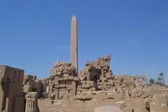 Tempel van amon-Ra van de God van de Zon Stock Afbeeldingen