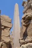 Tempel van amon-Ra van de God van de Zon Royalty-vrije Stock Afbeelding