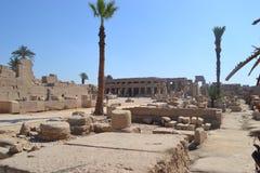 Tempel van amon-Ra van de God van de Zon Royalty-vrije Stock Fotografie