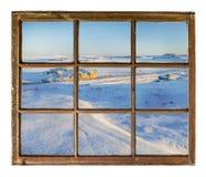 De prairie abstract landschap van Colorado Stock Foto
