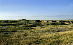 De prairie van Badlands Stock Afbeeldingen