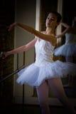De praktijk van het ballet Stock Afbeeldingen