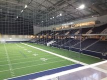 De praktijk van het de Cowboysgebied van Ford Center Dallas TX stock foto