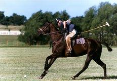 De Praktijk van het polo Stock Foto