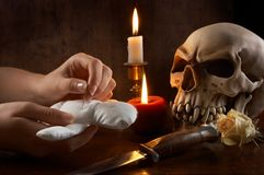 De praktijk van het voodoo royalty-vrije stock foto