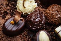 De pralines van de chocolade Stock Fotografie