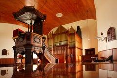 De preekstoel van de kerk Royalty-vrije Stock Afbeeldingen