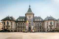 De Prefectuur van de Doljprovincie in Craiova, Roemenië Stock Foto
