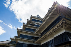 De Prefectuur van Matsumoto, Nagano, Japan Stock Afbeelding