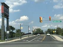 De Premieafzet van Gloucester in Blackwood, New Jersey stock foto