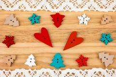 De prentbriefkaar van de Dag van de valentijnskaart Huwelijk Royalty-vrije Stock Foto